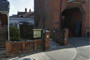 St Andrews Street entrance