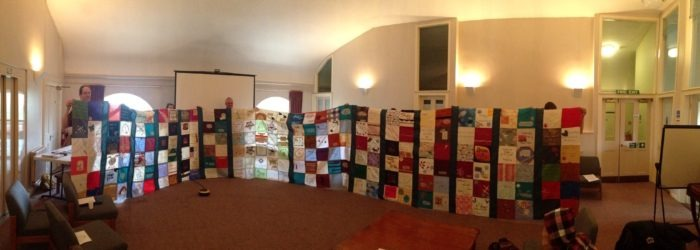 Drones Quilt in St Edmundsbury Cathedral