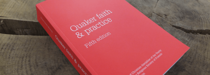 Reading Quaker Faith and Practice