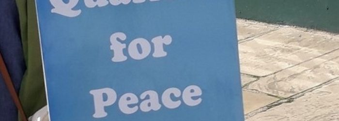 Reflections on our Message of Peace