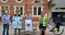 COP 26 Pilgrimage reaches Bury St.Edmunds