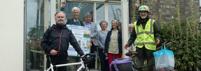COP26 Pilgrimage: Bury St.Edmunds to Sudbury